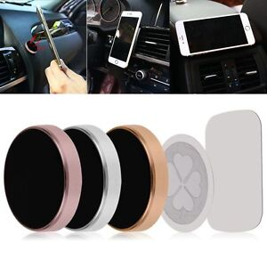 universel support magn tique voiture fixation aimant pour smartphone gps iphone ebay. Black Bedroom Furniture Sets. Home Design Ideas