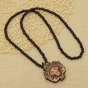 Lowenkopf Halskette Holz Der Konig Der Lowen Geschenk Lang Unisex