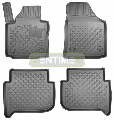 Caoutchouc Tapis De Sol Pour VW Volkswagen Touran 1 1 T Van Kombi 5-porte 203 Design 3d-tpe