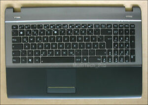 Org. TopCase für Asus U53 U53SD U53JC Series mit DE Tastatur Gehäuse Handauflage