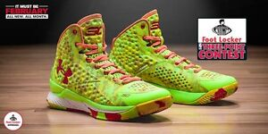0b2a58f6fdf9 Under Armour Stephen Curry 1 Candy Reign Size 11. splash warriors ...