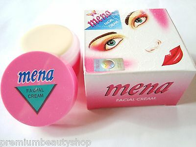 Mena Facial Cream Whitening Lightening Skin Remove Dark Spot Acne 3g. Original.