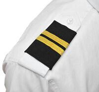 Aerophoenix Professional Pilot Uniform Epaulets - Two Bar - Fa - Fe - Cfi