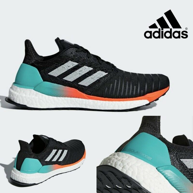 Adidas SOLARBOOS Mens Running Neutral Shoes Sneakers CQ3168 Price reduction