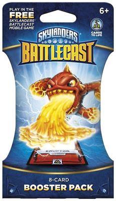 1 OF EACH DESIGN NEW /& SEALED Skylanders Battlecast  3 X  8 CARD BOOSTER PACK