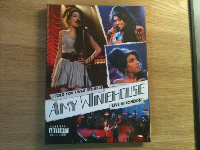Amy Winehouse - I Told You I Was Trouble - Live In London - Musik DVD 2007 / TOP