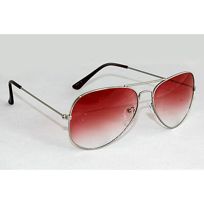 Aviator Sunglass In Dual Red Shade(Goggles)