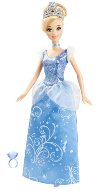 disney princess 12 cinderella doll mattel x2843 2011 ebay
