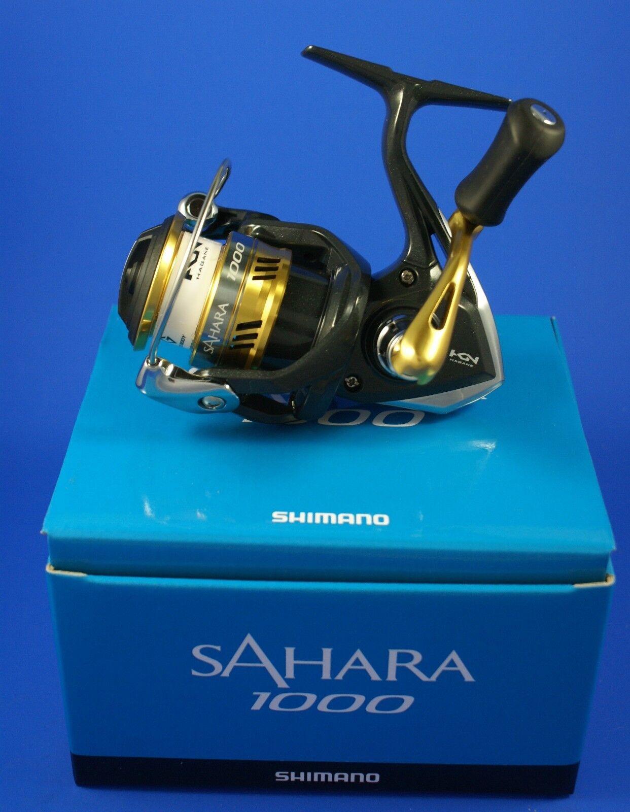 Shimano Sahara 1000 Fi    SH1000FI    Cocherete de pesca de arrastre frontal