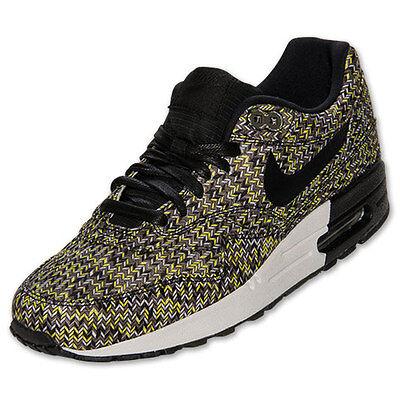 free shipping aa014 ee761 Nike AIR MAX 1 PRM SP 90 95 350 flyknit KHAKI BLACK SEQUOIA 616169-300 Sz  12 new | eBay