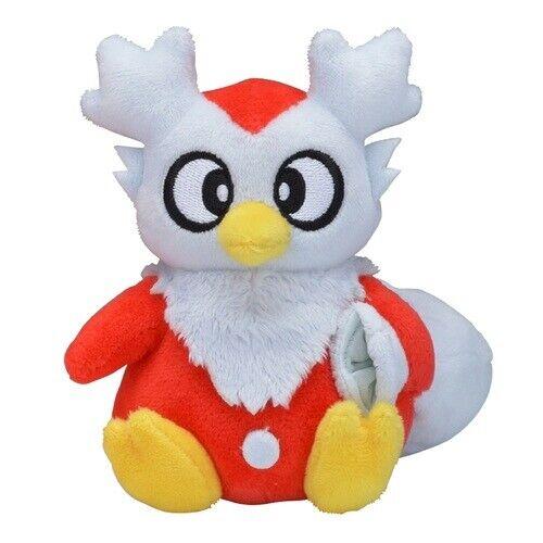 Pokemon Center Original Pokemon fit Mini Plush #225 Delibird doll Toy Japan