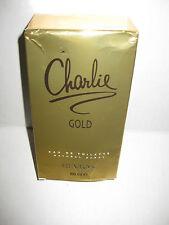 CHARLIE GOLD by REVLON Perfume EDT 3.4 oz EAU DE TOILETTE SPRAY - DAMAGED BOX.