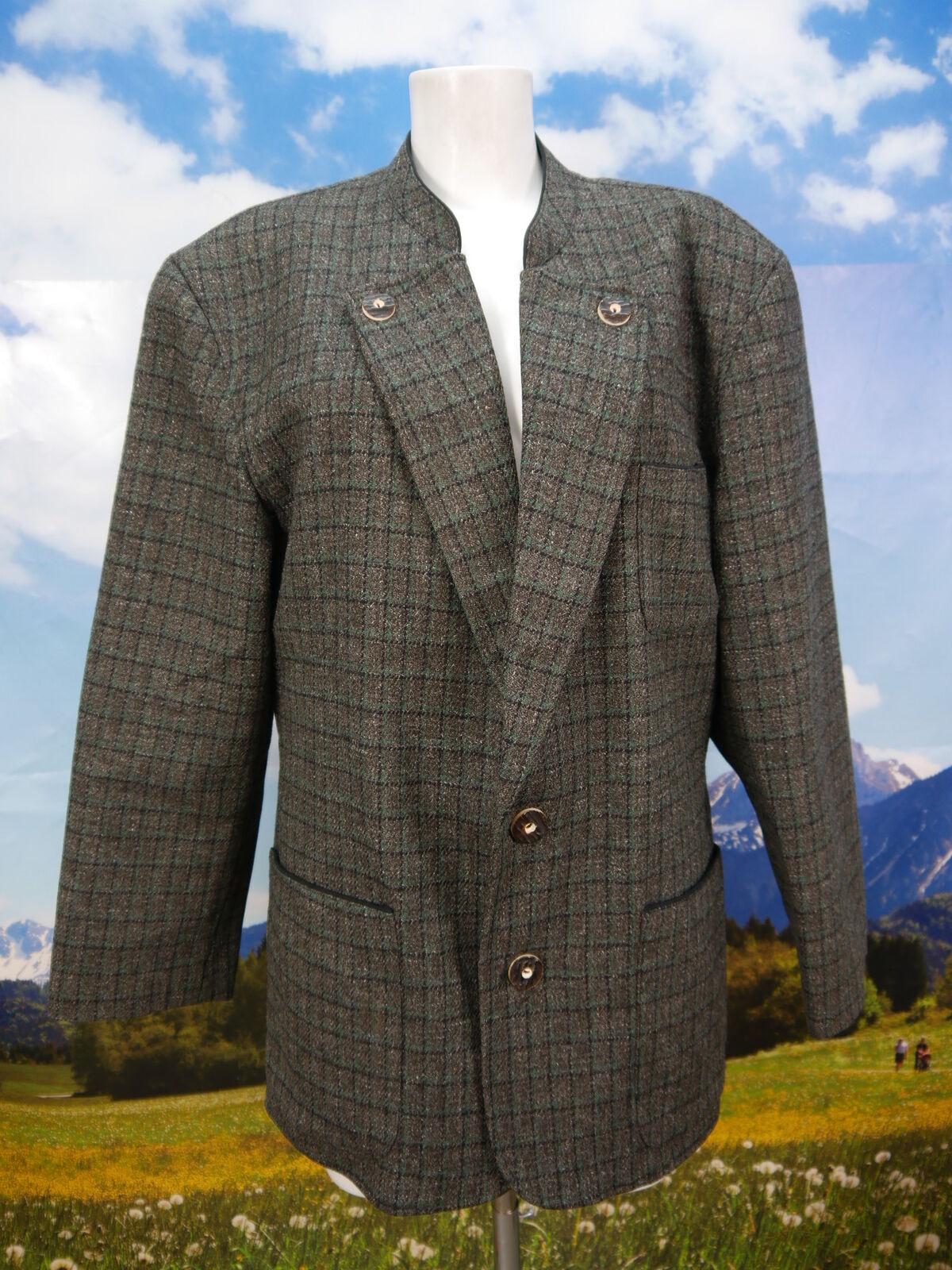 Tiroler Loden Neuf grand Janker Loden Costumes Veste Veste Taille 50