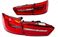 Audi S6 4G Avant Led Rückleuchten SATZ Heckleuchten 4G9945093B tail lights  ��