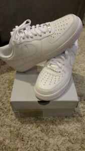 New With Box Men's Shoe Air Force 1 '07 White/White Free Ship
