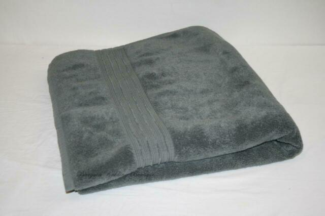 100/% R Cotton Craft 2 Pack Luxuriously Oversized Hotel Bath Sheet Charcoal