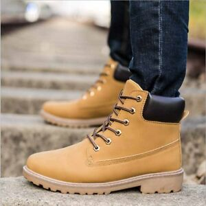 Details about Fashion Comfy Travel Men Boots Waterproof Ankle Shoes Casual  Men\u0027s Martin Boots