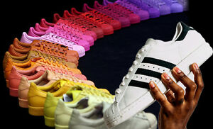 pretty nice e1fd8 d8f54 Image is loading ADIDAS-TRAINERS-ZX-FLUX-SUPERSTARS-MENS-AND-WOMENS-