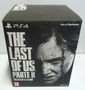 THE-LAST-OF-US-PART-2-COLLECTOR-039-S-EDITION-PS4-NEW-ITALIAN-BOX-SEALED-AS-PHOTO