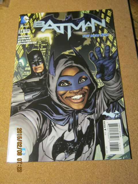 Batman Vol. 2 # 34 B DC October 2014 Scott Snyder Ryan Sook Selfie Variant     K