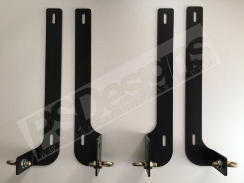 OEM Seat Belt Mount Brackets PSDesigns BMW E46//E36 inc M3 Harness Lap Belt
