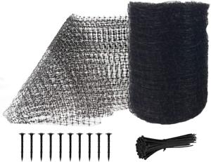 Feitore Deer Fence Netting, 7 x 100 Feet Bird Netting Anti Black