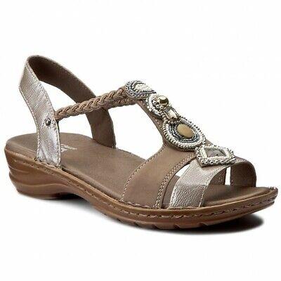 Ara Hawaii Damen Sandalette Leder Taupe Cotton Gr 36 42 | eBay
