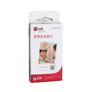 LG Pocket Photo PoPo Zink 150 Sheets Paper for PD239 PD221 PD251 PD261 PD269
