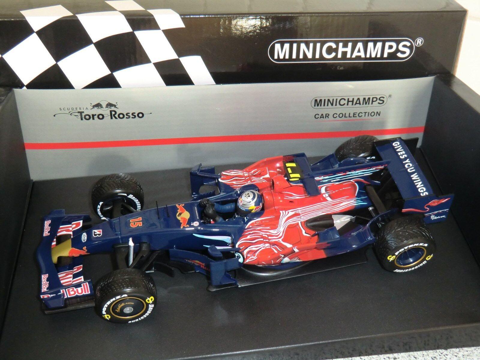 Toro Rosso STR3 Sebastian Vettel Monza GP Winner 2008 1 18 Rare