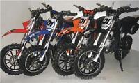 Crx 50 2 Stroke 50cc Petrol Engine Auto Mini Dirt Bike By Maf Bikes