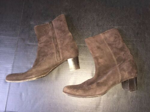 Cole Haan Leather Boots Brown