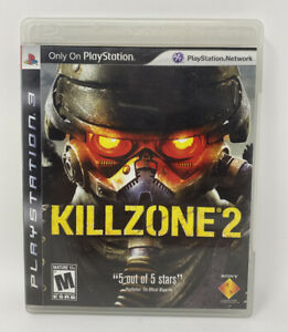 Killzone-2-Sony-PlayStation-3-PS3-2009-Complete-Tested-Working