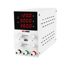 Dc Power Variable Supply 120v 3a 4digital Display Adjustable Regulated Switching