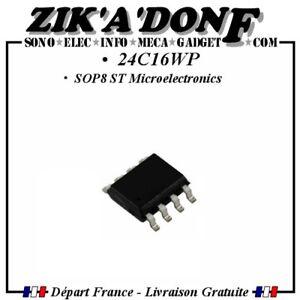 24C16WP-SOP8-ST-Microelectronics