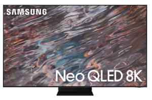 """Samsung QN65QN800A 65"""" 8K Neo QLED Smart TV (2021) - Stainless Steel"""