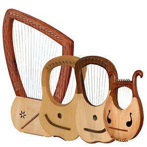 Range of Heartland Lyre Harps, 10 String, 8 String & 16 String Lyre Harp |  eBay