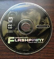 Operation Flashpoint: Cold War Crisis PC Game, Windows, Disc Only, 2001