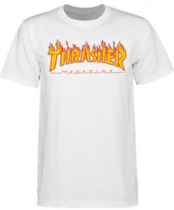 THRASHER-T-SHIRT-FLAME-MAG-LOGO-WHITE