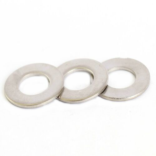 M5 STAINLESS FLAT FORM B WASHERS QTY 50 PACK