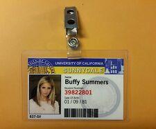 Buffy Vampire Slayer ID Badge-Sunnydale Buffy Summers prop costume cosplay