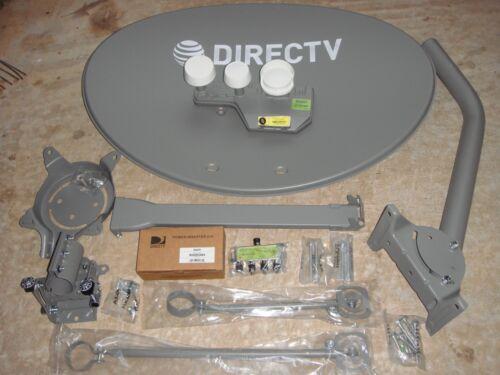 COMPLETE NEW DIRECTV SLIMLINE DSWM5 LNB 4K HD DISH KAKU 5 SWM5 SL5 J MOUNT