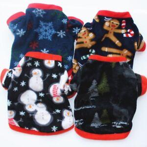 Christmas-Snowflake-Pets-Dog-Hoodie-Jackets-Coats-Puppy-Cats-Fleece-Sweater-Gift