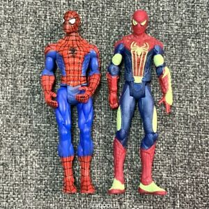LOT-2-New-Marvel-Legends-Spider-man-3-75-039-039-action-figures-Glow-in-the-dark-Toys