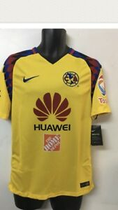 9b23a8d9689 Nike Club America Official 2017 2018 Third Soccer Football Jersey ...