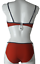 Bademode xs-exes Damen Bügel Bikini Set red-white 7937-1 Beachwear