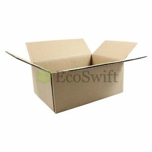 25 7x5x3 Cardboard Packing Mailing Moving Shipping Boxes Corrugated Box Cartons
