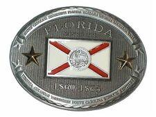 Belt Buckle - Gürtelschnalle Florida Flagge, USA, Cowboy, boucle de ceinture Neu