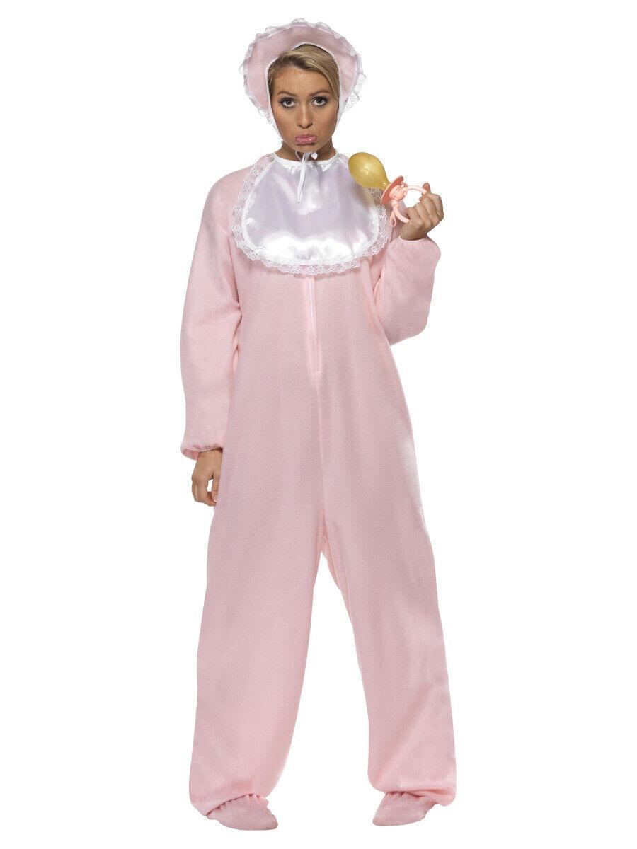 Adult Big Cute Cry Baby Fancy Dress Costume Mens Ladies Outfit Sleepsuit Romper