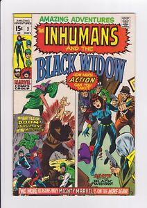 Amazing-Adventures-3-Inhumans-amp-Black-Widow-Nov-1970-Marvel-Comics-FN-VF