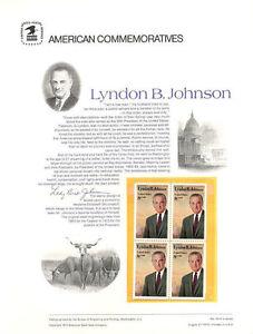 20-8c-Lyndon-B-Johnson-1503-USPS-Commemorative-Stamp-Panel-in-original-sleeve